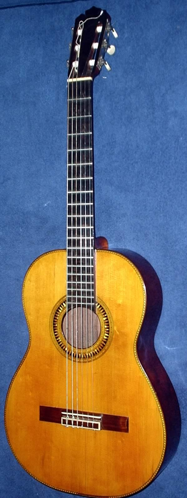 Guitarra Anónima - Anonymous Guitar - 1930 decade